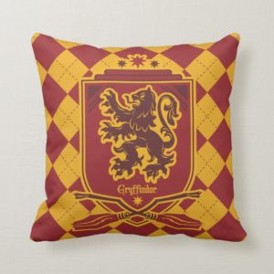 Harry Potter | Gryffindor QUIDDITCH™  Crest Throw Pillow