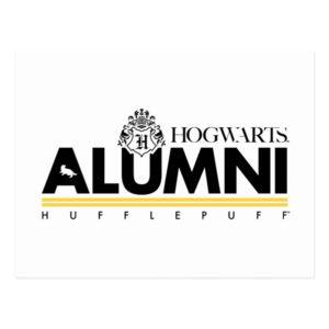Harry Potter | HOGWARTS™ Alumni HUFFLEPUFF™ Postcard