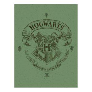 Harry Potter | Hogwarts Banner Crest Postcard