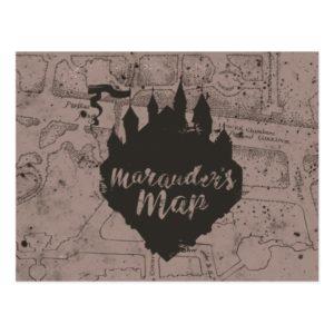 Harry Potter | HOGWARTS™ Castle Marauder's Map Postcard