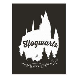 Harry Potter | HOGWARTS™ Castle Typography Postcard