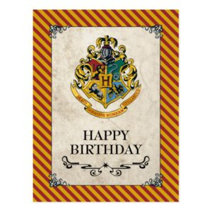 Harry Potter | Hogwarts Happy Birthday Postcard