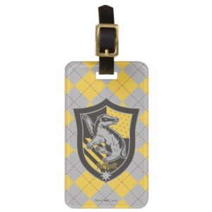 Harry Potter | Hufflepuff House Pride Crest Bag Tag
