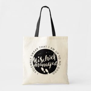 Harry Potter | Marauder's Map Charms Typography Tote Bag
