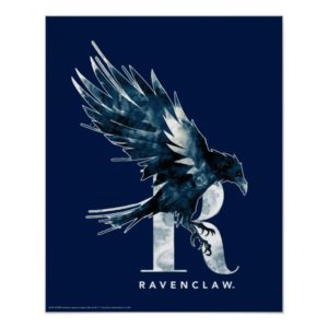 Harry Potter | RAVENCLAW™ Raven Watercolor Poster