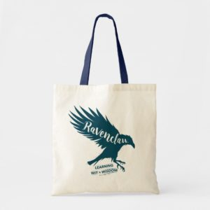 Harry Potter | RAVENCLAW™ Silhouette Typography Tote Bag