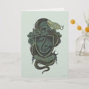 Harry Potter  | Slytherin Crest Card