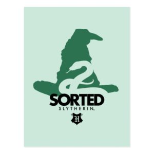 Harry Potter | Sorted Into SLYTHERIN™ House Postcard
