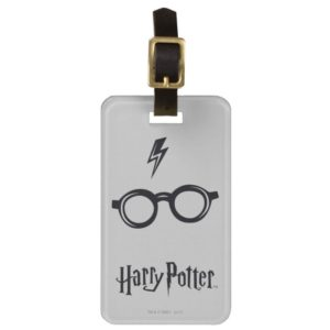 Harry Potter Spell | Lightning Scar and Glasses Luggage Tag
