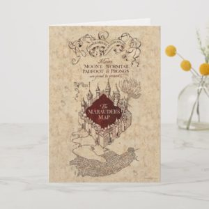 Harry Potter Spell | Marauder's Map Card