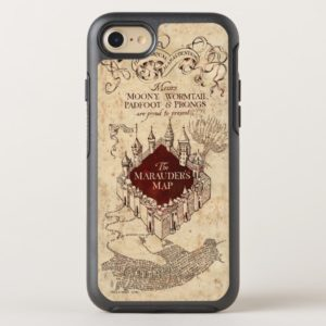 Harry Potter Spell | Marauder's Map OtterBox iPhone Case