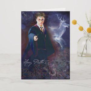 Harry Potter's Stag Patronus Card