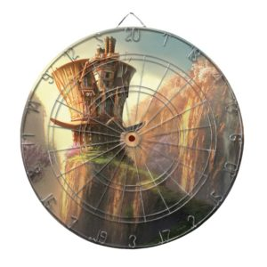 Hatter House Dartboard With Darts