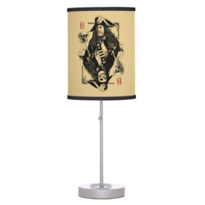 Hector Barbossa - Ruler Of The Seas Table Lamp