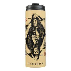 Hector Barbossa - Ruler Of The Seas Thermal Tumbler