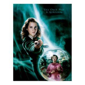 Hermione Granger and Professor Umbridge Postcard