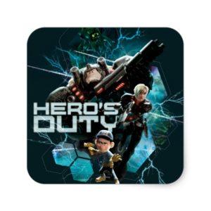 Hero's Duty 1 Square Sticker