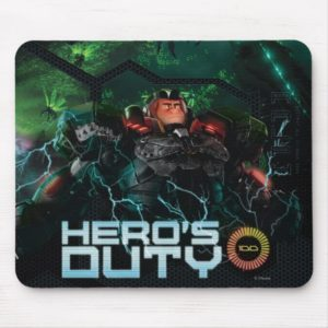 Hero's Duty 3 Mouse Pad