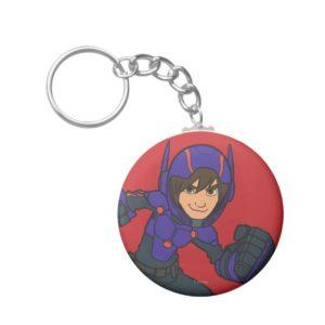 Hiro Hamada Purple Keychain