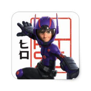 Hiro Square Sticker
