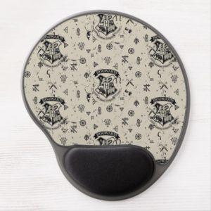 HOGWARTS™ Beige Pattern Gel Mouse Pad