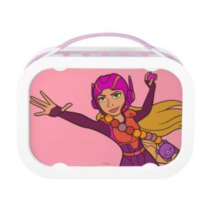 Honey Lemon Pink Suit Lunch Box