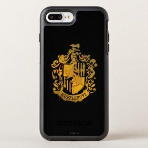 Hufflepuff Crest - Splattered OtterBox iPhone Case