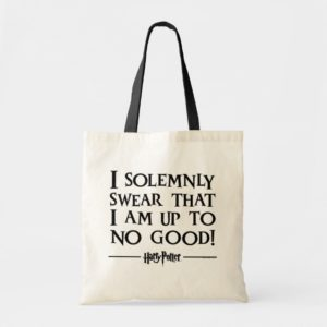 I SOLEMNLY SWEAR THAT I AM UP TO NO GOOD™ TOTE BAG