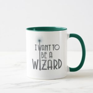 I Want To Be A Wizard Mug
