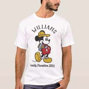 Mickey Mouse| Outdoor Mickey T-Shirt