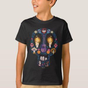 Disney Pixar Coco   Character Sugar Skull T-Shirt