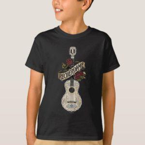 Disney Pixar Coco   Rustic Recuerdame Guitar T-Shirt