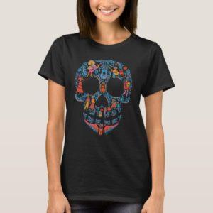 Disney Pixar Coco   Colorful Sugar Skull T-Shirt