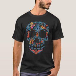 Disney Pixar Coco | Colorful Sugar Skull T-Shirt