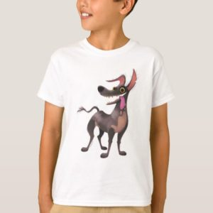 Disney Pixar Coco | Dante | Funny Tongue Out T-Shirt