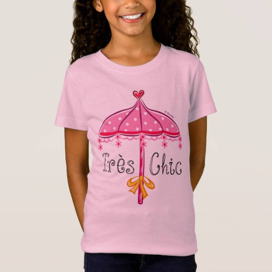 1914c481 Fancy Nancy | Tres Chic T-Shirt - Custom Fan Art