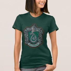 Harry Potter   Retro Mighty Slytherin Crest T-Shirt