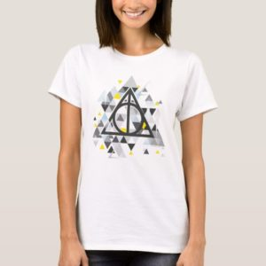 Harry Potter | Geometric Deathly Hallows Symbol T-Shirt