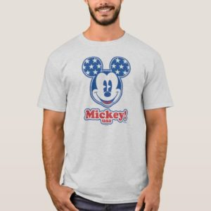 Patriotic Mickey Mouse 4 T-Shirt