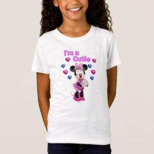 Pink Minnie | Cutie with Hearts T-Shirt