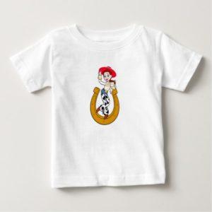 Toy Story's Jesse on Horseshoe Baby T-Shirt