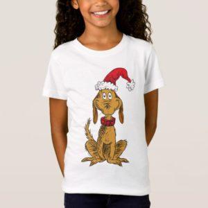 Classic Grinch | Max - Santa Hat T-Shirt
