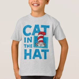 Dr. Seuss   The Cat in the Hat Logo - Vintage T-Shirt