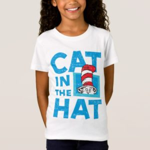 Dr. Seuss | The Cat in the Hat Logo - Vintage T-Shirt
