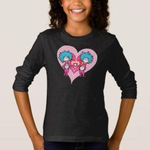 Dr. Seuss Valentine | Thing 1 Thing 2 T-Shirt