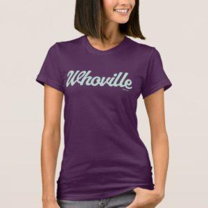 Dr. Seuss | Whoville Script Logo T-Shirt