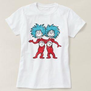 Dr. Seuss | Thing 1, Thing 2 Sitting T-Shirt