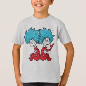 Dr. Seuss | The Cat in the Hat - Thing 1, Thing 2 T-Shirt
