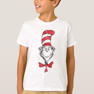 Dr. Seuss   The Cat in the Hat Head - Vintage T-Shirt