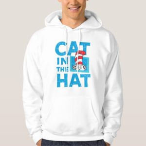 Dr. Seuss | The Cat in the Hat Logo - Vintage Hoodie
